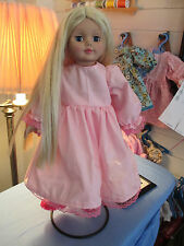 18 Inch Doll Clothes Handmade *Pink *Dress *