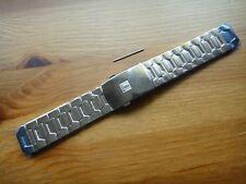 Polished Titanium Tissot T-TOUCH bracelet band strap Z252 Z253 Z352 Z353 20mm