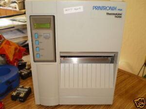 Printronix PSA Model T4204 ThermaLine Barcode Printer.  Tested Good <