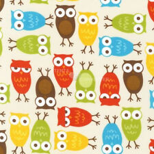 Urban Zoologie Bermuda Owls by Anne Kelle for Robert Kaufman, 1/2 yard fabric
