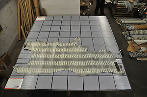 118 SF Gray  /  White Snake Print Cow Hide Leather Skin  N34 W-ZA