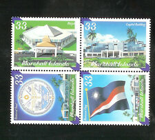 Marshall Islands # 748MNH  F-VF Se-Tenat  2000 National Govermont
