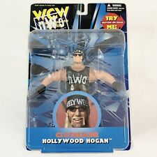 WWE Hollywood Hulk Hogan Figure WCW OSFTM Clothesline NEW Sealed Toymakers WWF