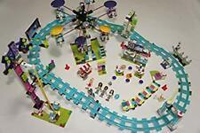 LEGO 41130 FRIENDS AMUSEMENT PARK ROLLER COASTER 1124 pcs used