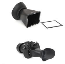 "3"" LCD Viewfinder Extender extender Hood Loupes For Canon EOS 550D 600D 60D DSLR"