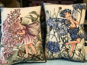 Periwinkle Blue Flower Fairy Pillow, Tooth Fairy Pillow, Mary Cicely Barker
