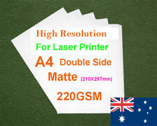 30 sheets A4 220GSM Double Copy Paper For Color Laser Printer
