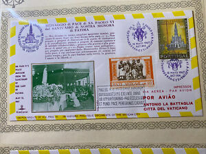 VATICAN AND PORTUGAL COVERS 1967