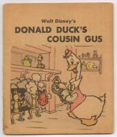 1939 Walt Disney Whitman Penny Book Donald Duck's Cousin Gus, Detached Cover