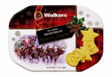 Walkers Shortbread Large Festive Shapes Christmas Tin 350g - Made in Scotland