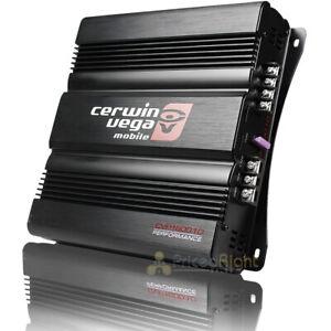 Cerwin Vega Monoblock 1 Channel Amplifier 1600 Watts Max 2 Ohm Stable CVP1600.1D