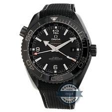 Omega Seamaster Deep Black GMT Auto Ceramic Mens Watch 215.92.46.22.01.001