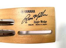 Rare Yamaha Russ Miller Jingle-Wedge Made In Japan Snare Drum