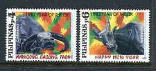 Philippines 2446-2447,MNH. New Year 1997,Lunar Yearof the Ox.
