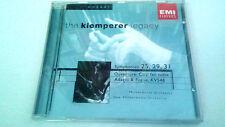 """KLEMPERER """"MOZART SYMPHONIES 25, 29, 31"""" CD 13 TRACKS EMI 7243 5 6733121"""