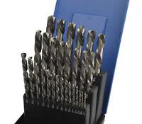 29 Pc Imperial Left Hand Drill Bits HSS 5% Cobalt drill out broken bolts/studs