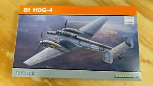KHS- Eduard ProfiPACK Edition Bf 110G-4 1/72 Scale - 3333