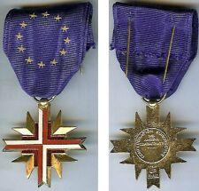 Médaille - confédération européenne des anciens combattants