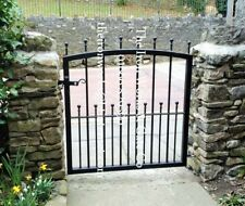 "MANOR IRON METAL SINGLE GARDEN GATE 5ft TALL x 36/"" OPENING MADE TO MEASURE LARGE"