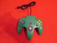Nintendo 64 Classic USB Enabled Wired Controller For PC And MAC Green N64 1918