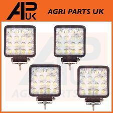 4 x 48W LED work Light Lamp 12V Flood Beam 24V Square Trailer Offroad 4X4 SUV