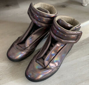 Maison Martin Margiela Future High Top Lavender Chameleon Authentic US 11 Shoes
