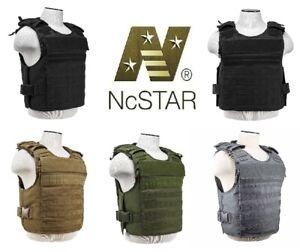NEW NcSTAR External Pocket Tactical Plate Carrier M-2XL Adjustable