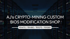 ASUS RX 580 Dual 8GB 29MH/s CUSTOM BIOS MODIFICATION Ethereum BTC