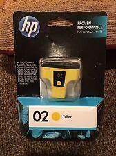 HP 02 YELLOW ORIGINAL INK CARTRIDGE (C8773WN) EXP 7/2015 OPTION 140