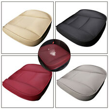 1x Universal PU Leather Deluxe Cushion Auto Car Driver Seat Cover Mat Protector