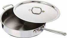All-Clad 4405 SS  5-Qt  Try-Ply Saute Pan with Lid