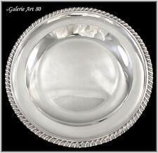 ODIOT Gustave : Somptueux Plat Argent massif Sterling Silver Platter 631gr N°2
