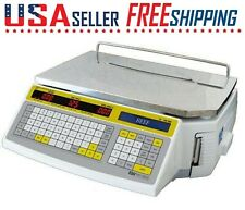 Easy Weigh Ls 100f Printing Label Scale Ls100f Ls100 Netp 60lb Deli Meat Grocery