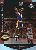 1998-99 Upper Deck Ovation Superstars of the Court #C8 Kobe Bryant / HOF / NM-MT