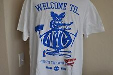 Element Welcome to NYC Angry Rat Logo Organic T-shirt Sz L Brand New with Tags
