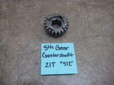 2001 KTM 250SX 250 SX Transmission Counter Shaft Countershaft 5th Gear 21T 512