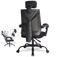 Home Office Ergonomic High Back Mesh Chair Reclining Swivel Computer Desk Chair
