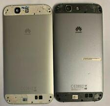100% Genuine Huawei Ascend G7 G7-L01 In Metallo Della Batteria Cover Posteriore Retro Regno Unito