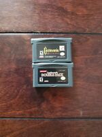 Nintendo Gameboy GBA Castlevania Circle of the Moon / Double Pack .Repros.