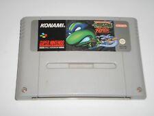 Teenage Mutant Ninja Turtles Tournament Fighters Super Nintendo Game SNES TMNT
