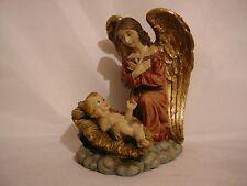 Arcangelo con Gesù bambino,Religion,Angelo,16 cm,NUOVO,Svendita