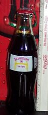 2003 HOT AUGUST NIGHTS RENO NEVADA car show 8 OUNCE GLASS COCA - COLA BOTTLE