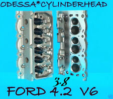 2 FORD MERCURY MUSTANG COUGAR TRUCK 3.8 4.2 OHV CYLINDER HEADS CAST#YF2E 97-04