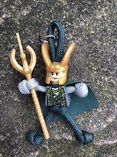 Loki Marvel DC Avengers Star Wars paracord keyring zipper puller