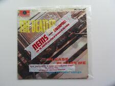 THE BEATLES 1963 PLEASE PLEASE ME  GOLD PARLOPHONE  IN  NEMS  BAG