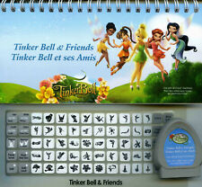 """Cricut DISNEY Cartridge """"TINKER BELL AND FRIENDS """" Excellent Used Condition T-9"""