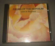 Fields of the Nephilim - Live In England *RARE* CD sisters mission