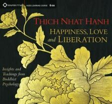 Happiness, Love, and Liberation by Thich Nhat Hanh - 6 CD Audio Set - NEW SEALED