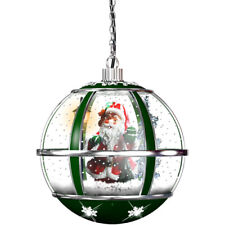 Fraser Hill Farm Fshl013Rda-Gn Let It Snow Series 13-In. Hanging Musical Globe i