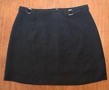 bebe Black Mini Skirt - Size 6 Women's Polyester Sexy Short Wear to work